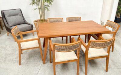 Madera de caoba, un clásico para muebles de alta calidad
